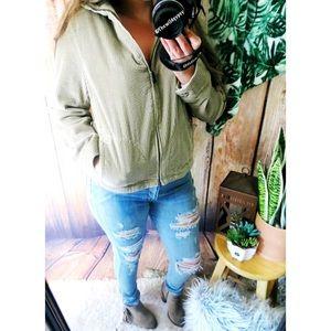 LL Bean Cozy corduroy jacket ☕️